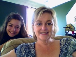 My niece and I try to use a webcam
