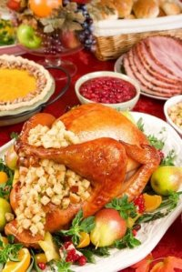 During your thanksgiving meal give thanks for problems too