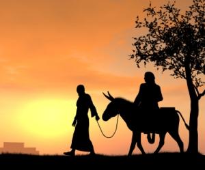 Mary and Joseph begin the journey Luke 2:1-3