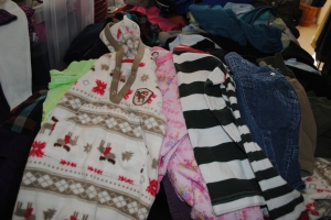 Baby Clothes poured in
