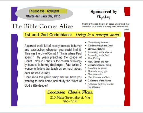Fist and 2nd Corinthians Study
