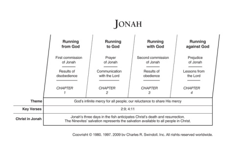 Jonah Overview Chart